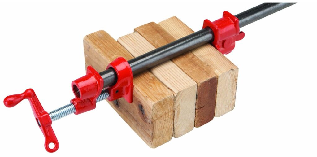 pipe clamp - What Clamps Do I Need For Woodworking